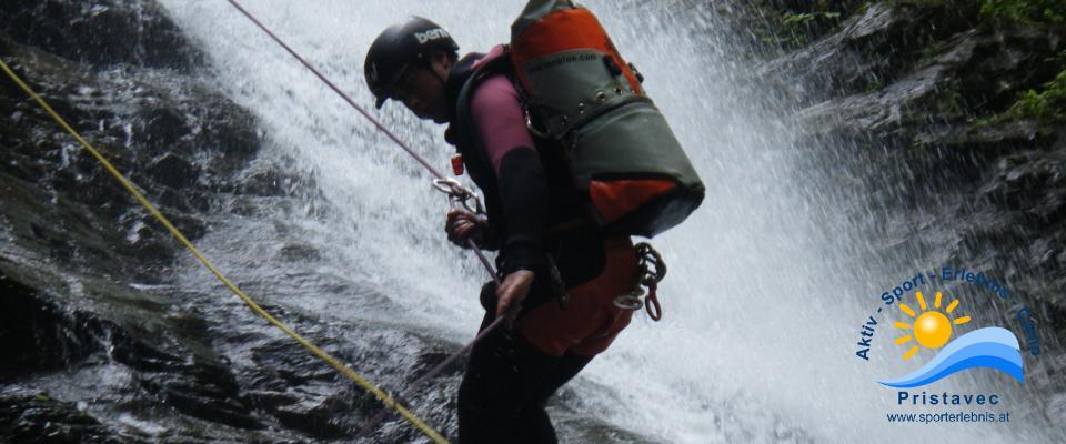 Canyoning Sportiv Kärnten