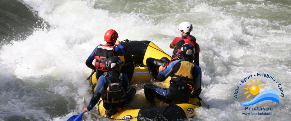 Rafting in Kärnten Wildwasserarena