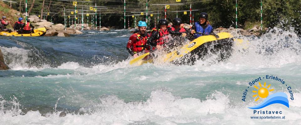 Rafting in der Arena