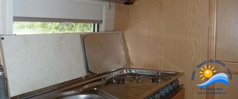 Wohnwagen II Küche